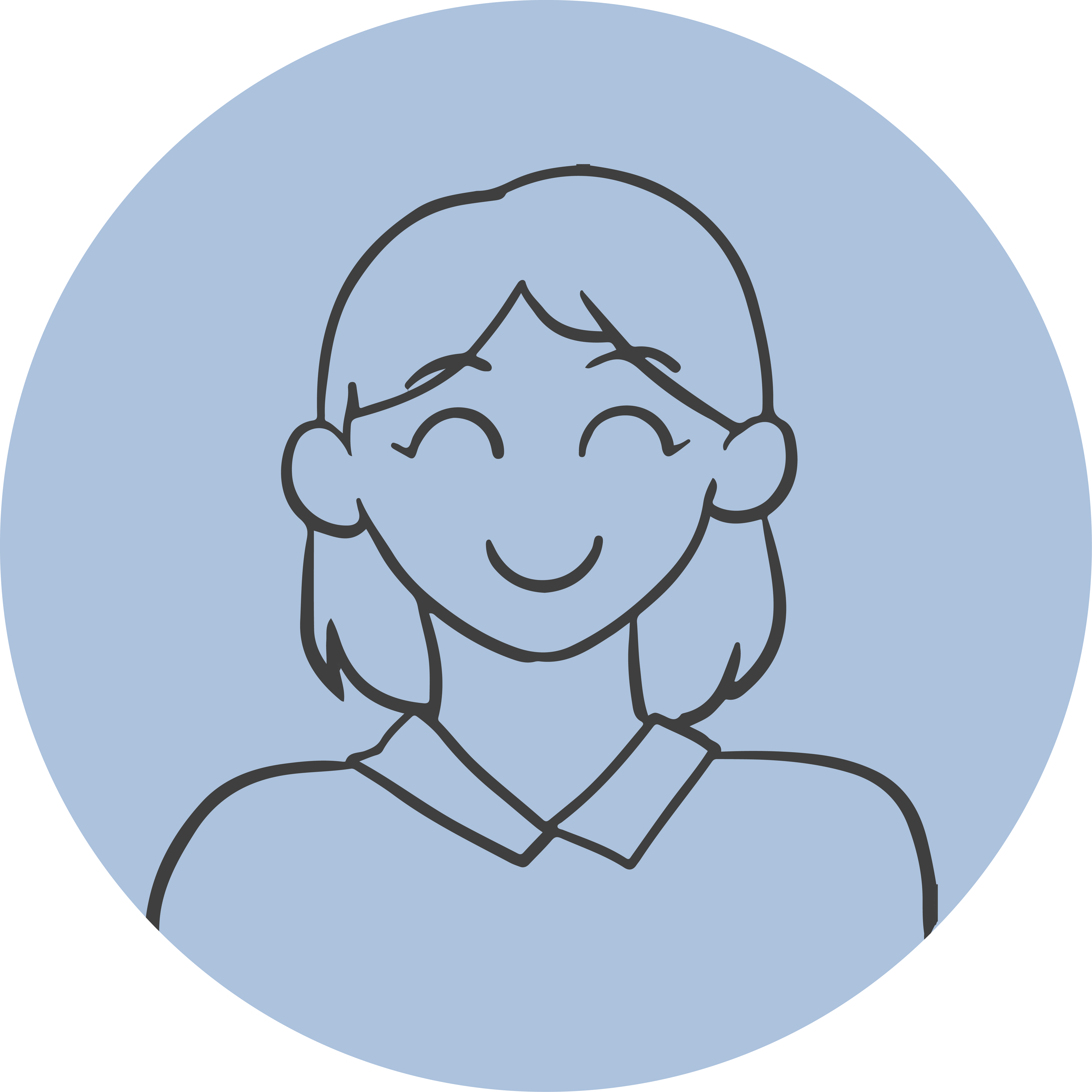 Guided Doodle Headshot – Woman-01