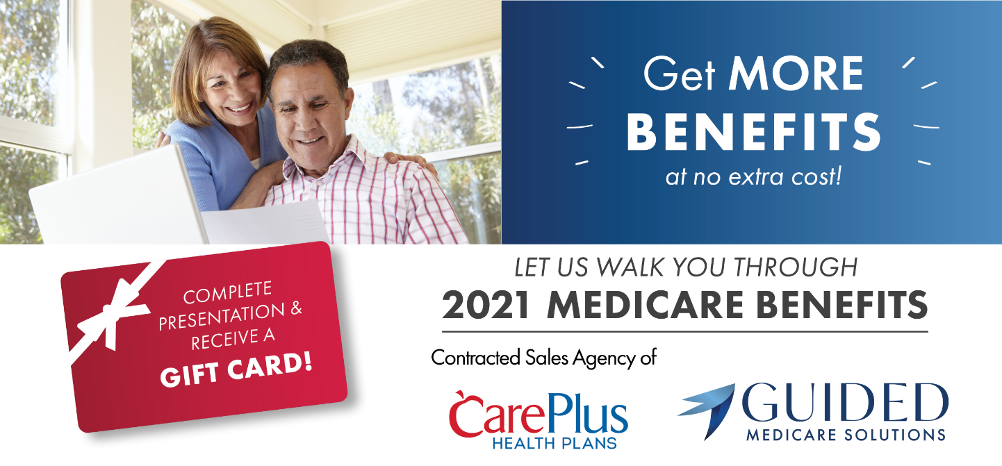 Guided Medicare Benefits 2021 Enrollment Details
